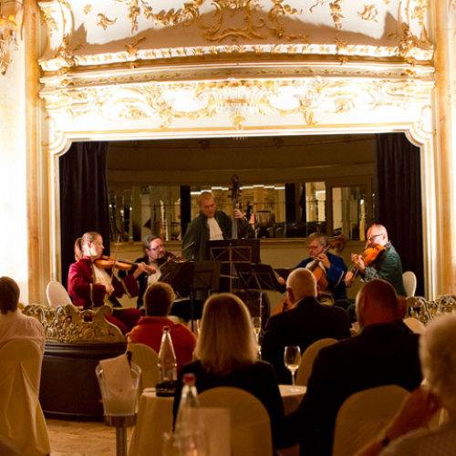 Ужин - концерт с Моцартом