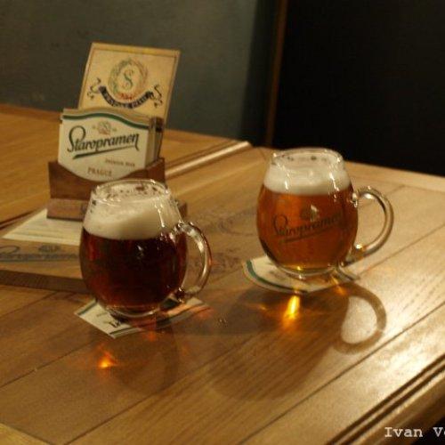 Дегустация пива Старопрамен