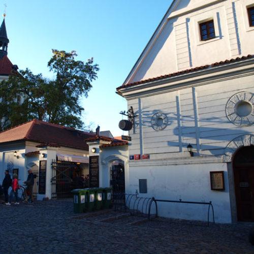 Монастырская пивоварня в Праге